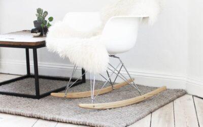 Kugletæppe – rundt eller firkantet – 100% rent uld og håndlavet – se her