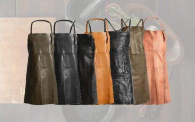 Læderforklæde fra Muud – EKSKLUSIVE forklæder i læder til de stilede 🍽