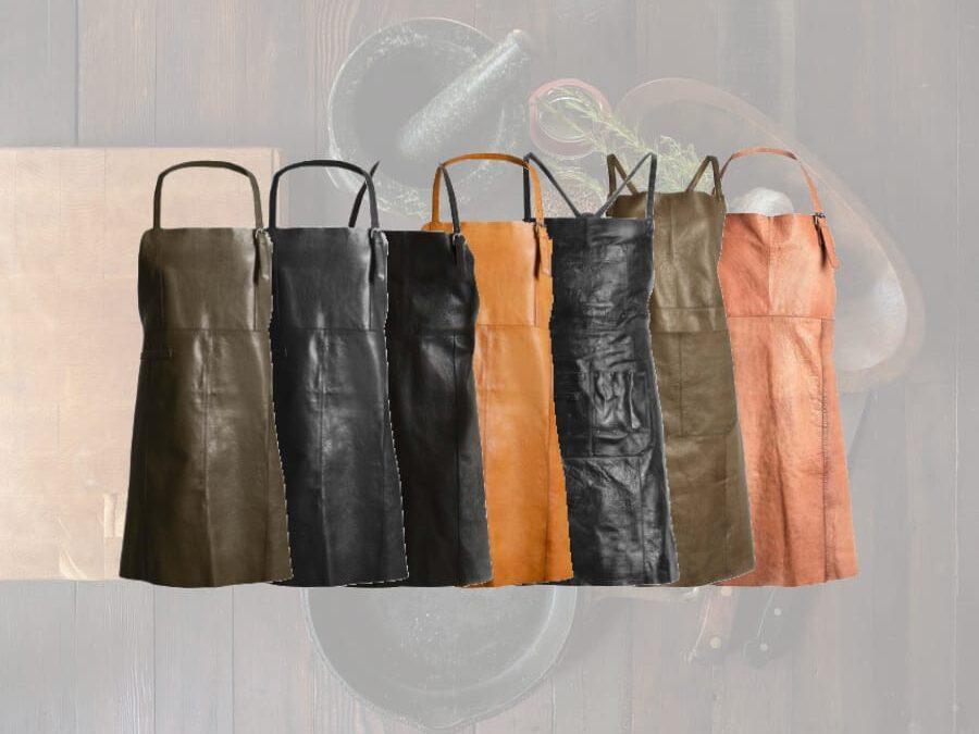 læderforklæde - muud