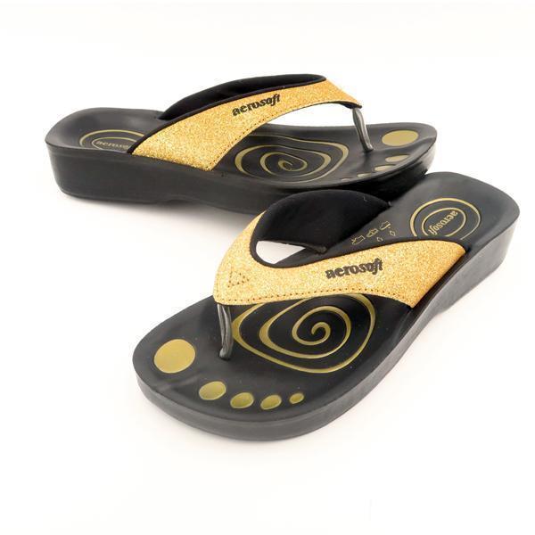 aerosoft sandaler guld